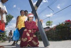 Crucifixión Imagen de archivo