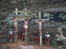 Crucifixion. Stock Photos