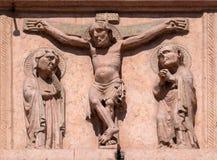 crucifixion fotos de stock