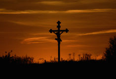 The Crucifixion. Royalty Free Stock Photography