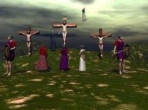 crucifixion arkivfoto