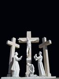 Crucifixion. An image of the crucifixion in Fatima, Portugal Royalty Free Stock Image