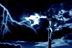 Crucifixion Image stock