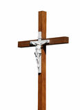 Crucifix isolated Royalty Free Stock Images