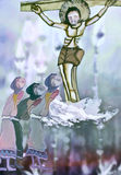 crucifixion libre illustration