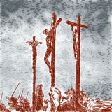 Crucifixion Royalty Free Stock Photo