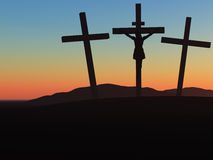 Crucifixion Royalty Free Stock Image