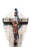 Crucifixion av den Jesus Kristus Royaltyfria Bilder
