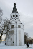 Crucifixion church bell tower Stock Image