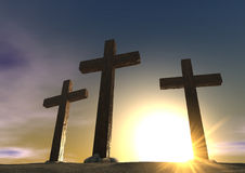 The Crucifixion Close Stock Images
