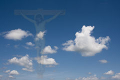Crucifixion concept Royalty Free Stock Photography