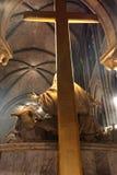 crucifixion d'église Photographie stock libre de droits