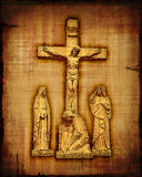 Crucifixion de Jésus-Christ Image libre de droits