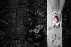 crucifixion jesus Стоковые Изображения RF