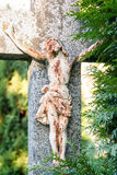 Crucifixion, Jesus Christ on the cross Stock Photography