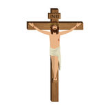 The Crucifixion of Jesus Christ Stock Images