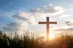 Crucifixion Of Jesus Christ Royalty Free Stock Image
