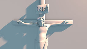 The Crucifixion of Jesus Christ Royalty Free Stock Photo