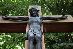 Crucifixion royalty free stock photos