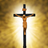 Crucifixion. Jesus Crucified on the Cross.Crucifixion Christianity Symbol Stock Photography