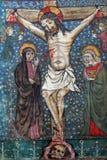 Crucifixion, Jesus dies on the cross Stock Image