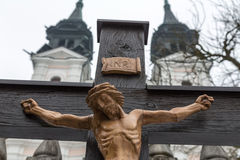 Crucifixion jesus. good friday and easter Stock Images