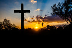 Crucifixion of Jesus Stock Image