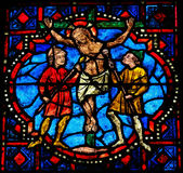 The Crucifixion of Jesus Royalty Free Stock Images