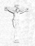 Crucifixion and resurrection of Jesus Christ on the cross Royalty Free Stock Photography