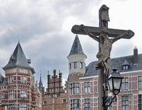 Crucifixion Statue Stock Image