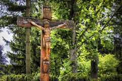 Crucifixo Fotografia de Stock Royalty Free