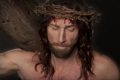 Crucifixtion Portrait Royalty Free Stock Photography