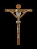 Crucify Skelett Stockbild