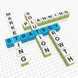 Crucigrama Stock de ilustración