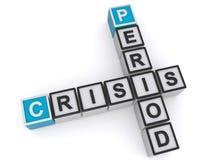 Crucigramas del período de la crisis libre illustration