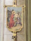crucis через Стоковая Фотография