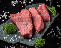 Crude beef Royalty Free Stock Photography