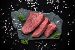 Crude beef Royalty Free Stock Photos