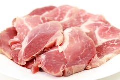 Crude meat Stock Photo
