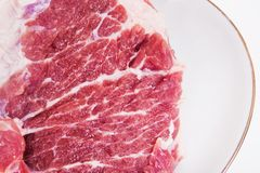 Crude meat Stock Photography