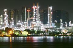 Crude oil, Oil refinery work needs certainty, precision. Oil is a major energy fuel of the world, oil refineries are working continuously and long, to push the stock photography
