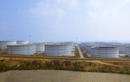 Crude Oil Tank Stock Photos