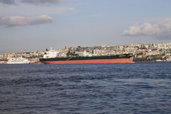 Crude oil tanker Stock Images
