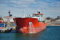 Crude oil tanker Stock Photos