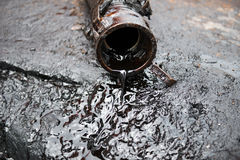 Crude oil Royalty Free Stock Images