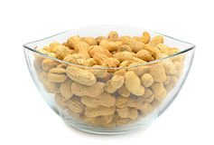 Crude peanuts Royalty Free Stock Photo