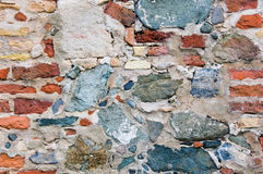 Crude Stone Wall Background Royalty Free Stock Photo