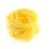 Crude yellow macaroni Royalty Free Stock Photography