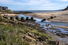 Cruden Bay, Aberdeenshire, Scotland, UK stock image