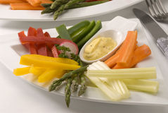 Crudites salad. Royalty Free Stock Image